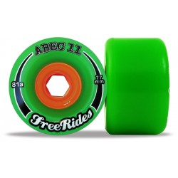 "Abec 11 ""FreeRides"" 77mm (4 roues)"