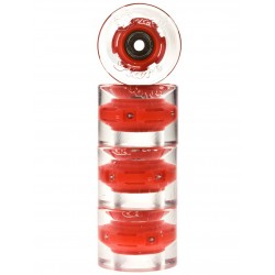 Sunset Skateboards Red 59mm (4 roues) + Abec 9