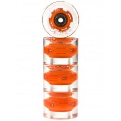 Sunset Skateboards Orange 59mm (4 roues) + Abec 9
