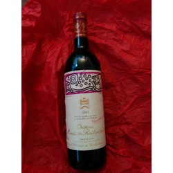 Chateau Mouton Rothschild 1988 par Keith Haring - bouteille 75cl