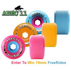 "Abec 11 ""Stone Ground FreeRide"" 70mm (4 roues)"