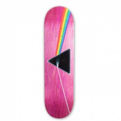 Habitat skateboard x Pink Floyd Dark Side of the Moon 8'25