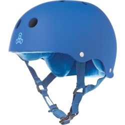 Triple 8 Brainsaver Blue Rubber