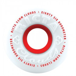 Ricta Wheels Cloud 86a White 53mm