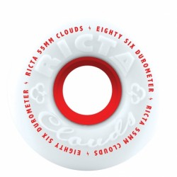Ricta Wheels Cloud 86a White 55mm