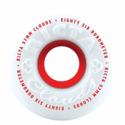 Ricta Wheels Cloud 86a White 57mm