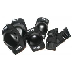 TSG basic set (coudières, genouillères et protèges poignets)