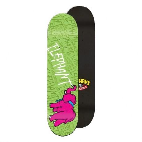 Elephant Skateboards Chalkboard IV Green  8.5 x 32.5
