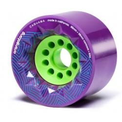 Orangatang Caguama  85mm (4 roues) Purple  83a